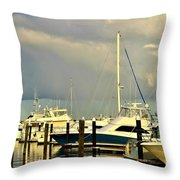 Boatworks 1 Throw Pillow
