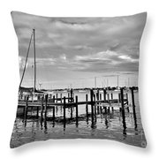 Boatworks 4 Throw Pillow