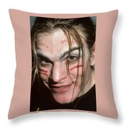 Bob Beru Throw Pillow