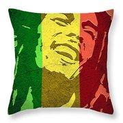 Bob Marley I Throw Pillow