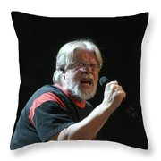 Bob Seger 3727 Throw Pillow