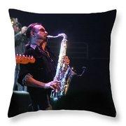 Bob Seger-alto Reed 3932-1 Throw Pillow