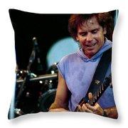 Bob Weir Grateful Dead Alpine Valley 1987 Throw Pillow
