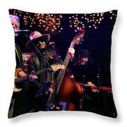 Bob Wier, Don Was, Branford Marsalis Throw Pillow