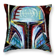 Boba Fett Ll Throw Pillow