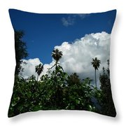 Bobbie's World Throw Pillow