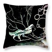 Bobble Fairy  Throw Pillow