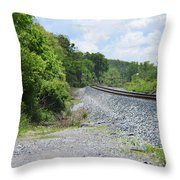 Bobby Mackey's Railroad Throw Pillow