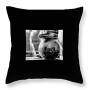 Bobby's Back In Toon. Throw Pillow
