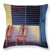 Boca De Yumuri Porch Throw Pillow