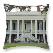 Bocage Plantation Throw Pillow