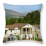 Boddy House Throw Pillow