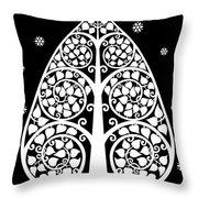 Bodhi Tree_v-8 Throw Pillow