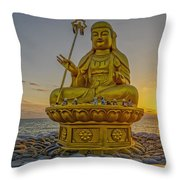 Bodhisattva Sunrise Throw Pillow