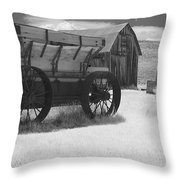 Bodie Ca - Praise The Lord And Pass The Ammunition Throw Pillow by Christine Till