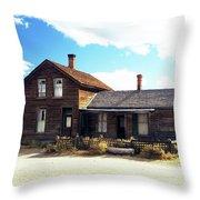 Bodie Houses Throw Pillow