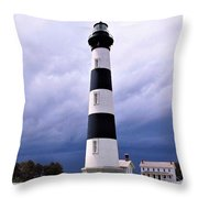 Bodie Island Contrast Throw Pillow