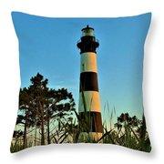 Bodie Island Evening Throw Pillow