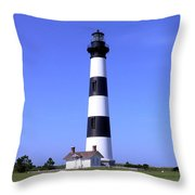 Bodie Island Light Throw Pillow