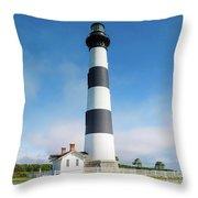 Bodie Lighthouse Throw Pillow