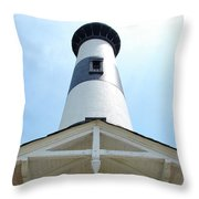 Bodie Lighthouse Nags Head Nc IIi Throw Pillow