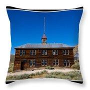 Bodie Schoolhouse Throw Pillow