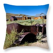 Bodies Bucket Of Bolts Throw Pillow