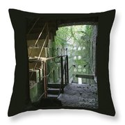Bodmin Gaol Cornwall England Throw Pillow