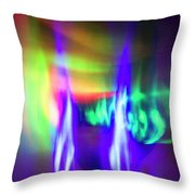 Body Electric Throw Pillow