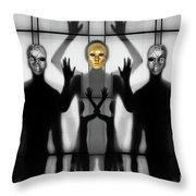 Body Language 64 Throw Pillow
