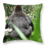 Body Language Throw Pillow