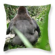 Body Language Throw Pillow