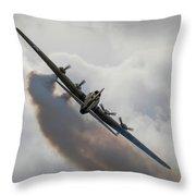 Boeing B17 Sally B Throw Pillow