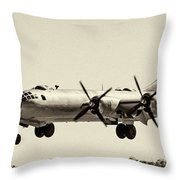 Boeing B29 Throw Pillow