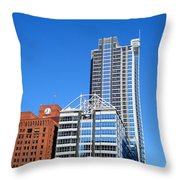 Boeing Chicago Throw Pillow