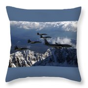 Boeing Kc-135 Stratotanker Throw Pillow