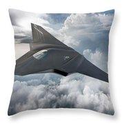 Boeing Next Gen Fighter Concept Throw Pillow