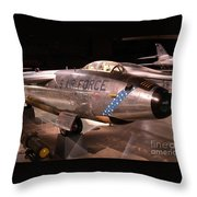 Boeing Rb 47h Plane Throw Pillow