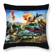 Bogomil Landscape Throw Pillow