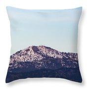 Bogus Basin Throw Pillow