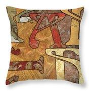 Bohemian Faith Throw Pillow by Debbie DeWitt