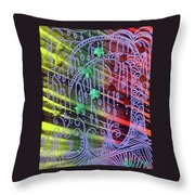 Bohemian Rhapsotree Throw Pillow