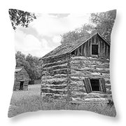 Bohls Cabins At Bee Cave V I Throw Pillow
