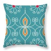 Boho Ornamental 3- Art By Linda Woods Throw Pillow