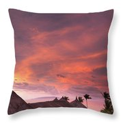 Bohol Sunset  Throw Pillow