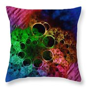 Boil And Bubble Throw Pillow