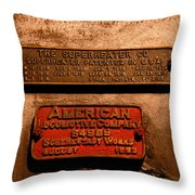 Boilerplates Throw Pillow