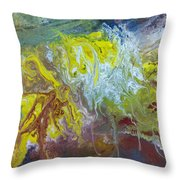 Boiling Over Throw Pillow