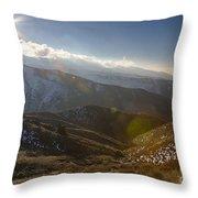Boise Ridge Throw Pillow