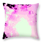 Spark Of Heart Light Throw Pillow